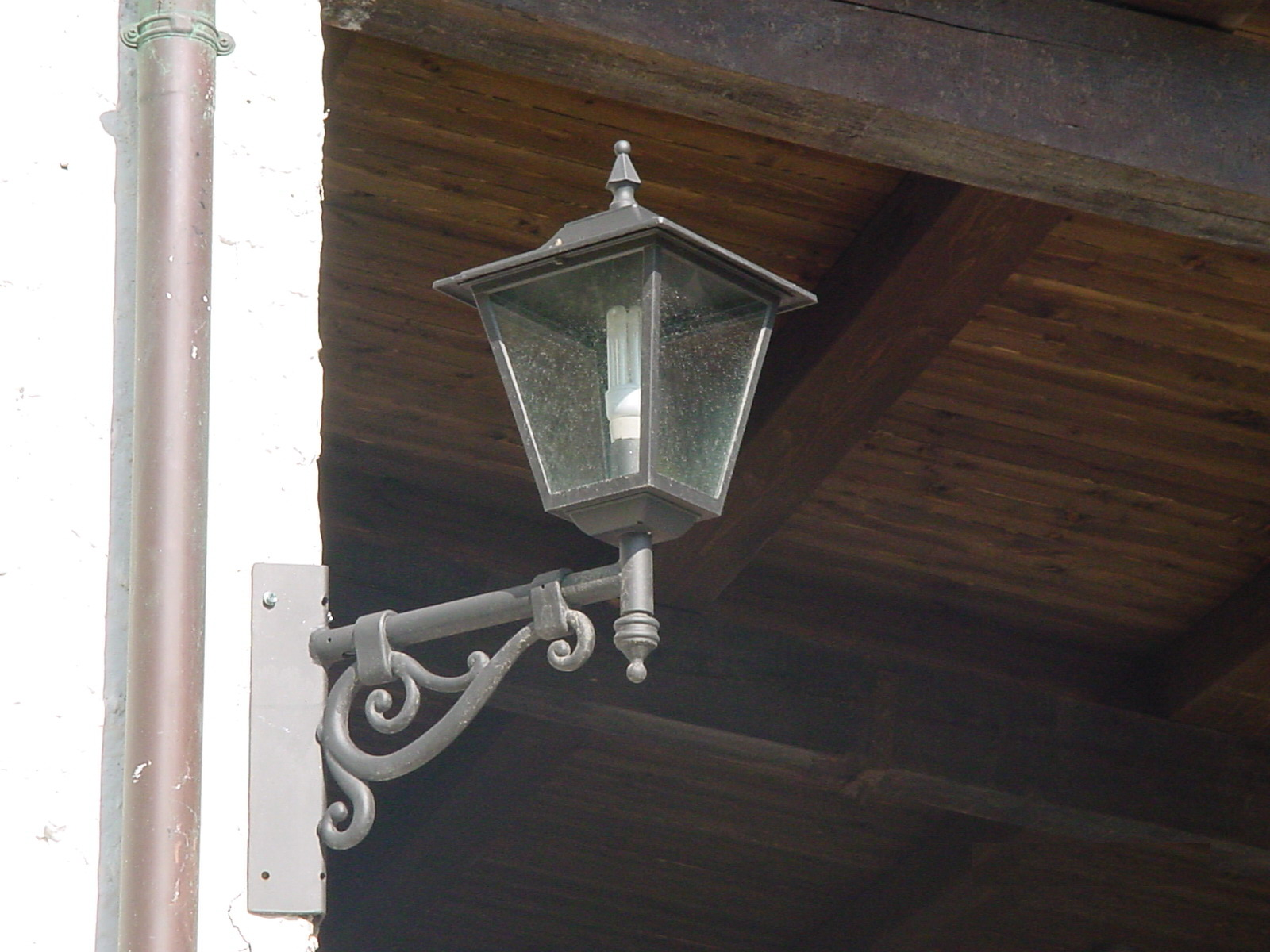 Lanterna Parete Esterno : Lanterna a muro esterno mezza lanterna da parete applique per