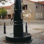Fontana in ghisa monumentale