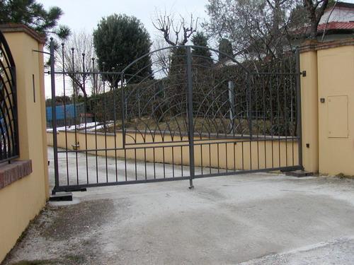 Copri porta cancellate ringhiere divisori copri - Cancello porta ingresso ...
