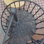 Scala a chiocciola in Ghisa Liberty, Rimini