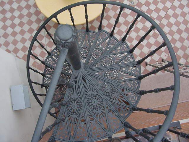 Scale In Ghisa.Scala A Chiocciola In Ghisa Liberty Rimini