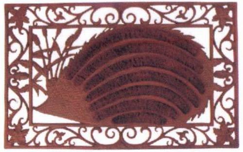 zerbino ghisa cocco pulisciscarpe stuoino