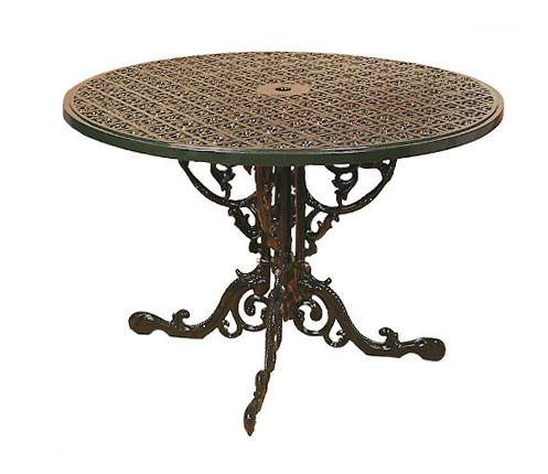 Base Tavolo portico,terrazzo,giardino in fusione di alluminio ...