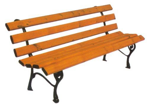 Panchina arredo urbano nicra in ghisa legno esotico 4006 for Arredo urbano legno