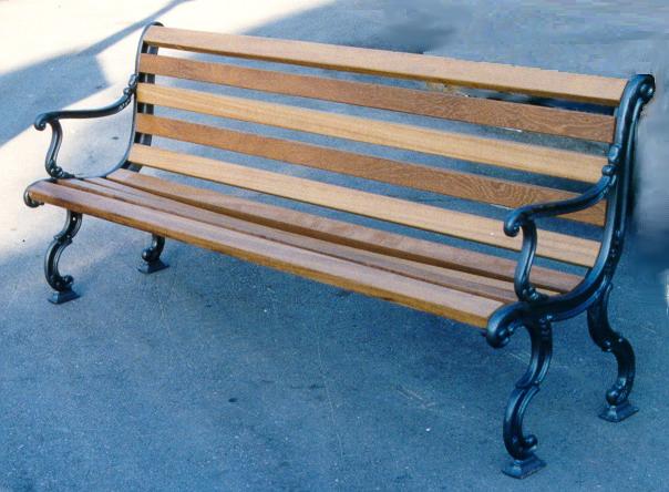 Panchina piemonte in ghisa pino arredo urbano 4013 pino for Arredo urbano panchine