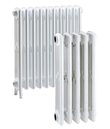 Radiatore in ghisa 4 colonne h 90 con possibilit di for Calorifero d arredo