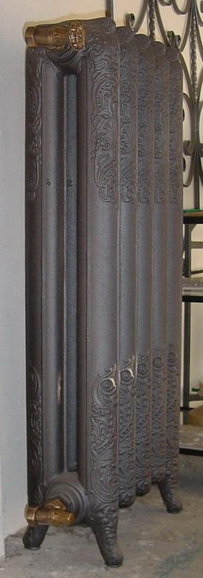Termosifoni radiatori ghisa stile liberty decorato 2 for Radiatori ghisa ferroli