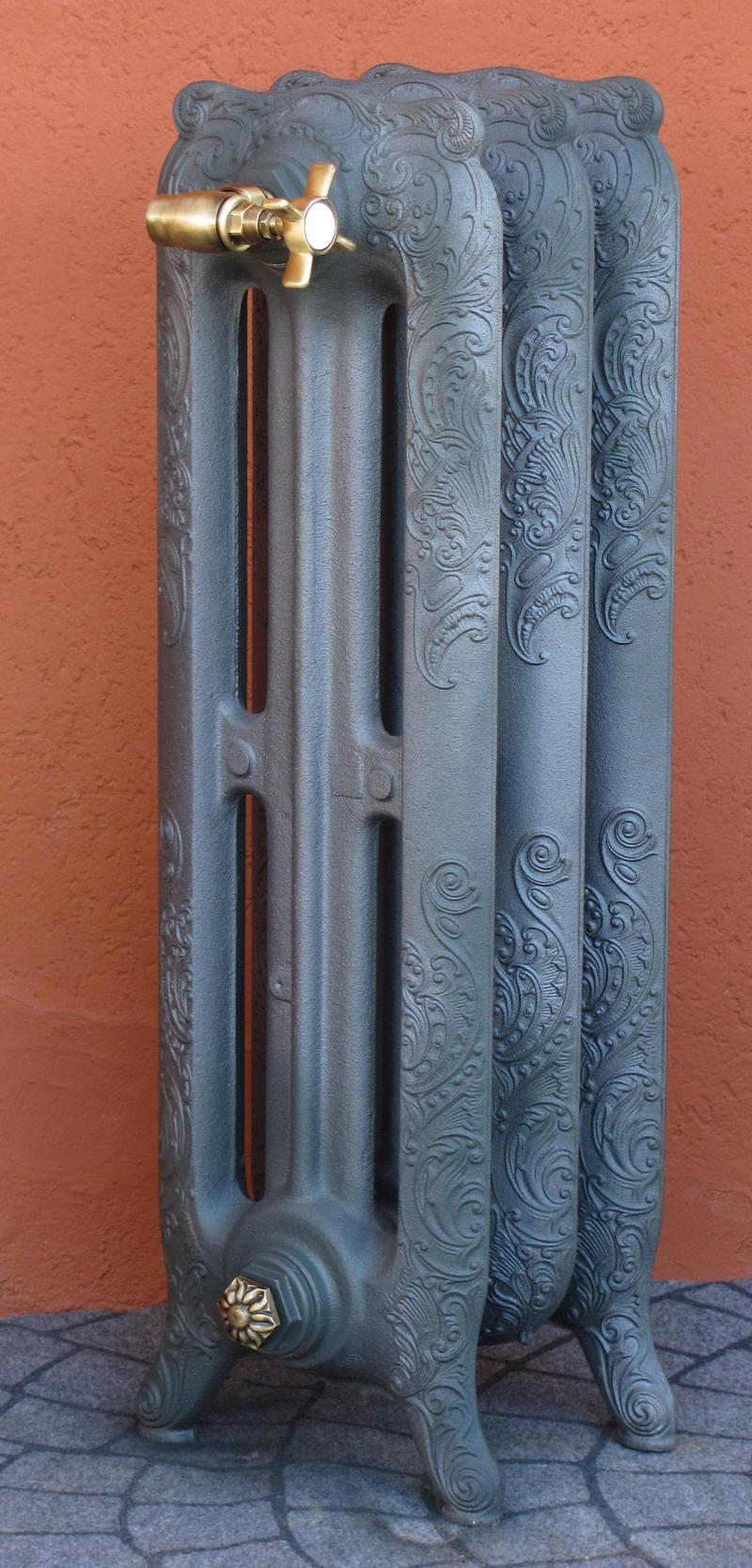 Radiatore in ghisa stile tiffany decoratofonderia innocenti for Calorifero d arredo