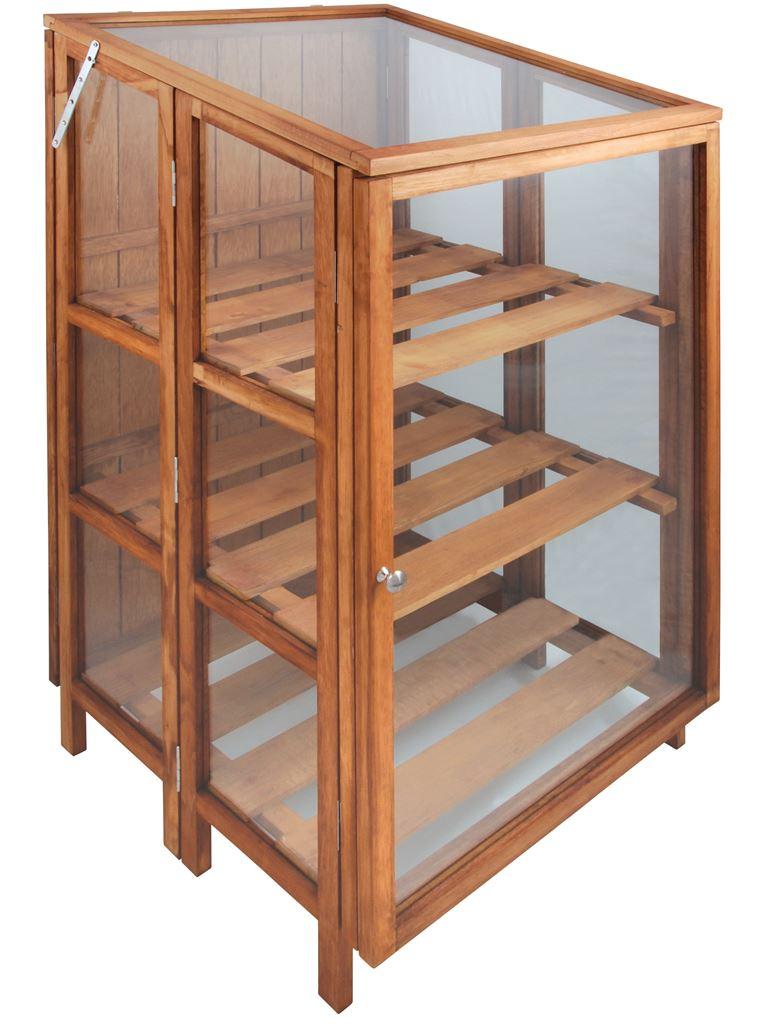 Serra da terrazzo in legno e vetro. GTCFI34 - Fonderia ...