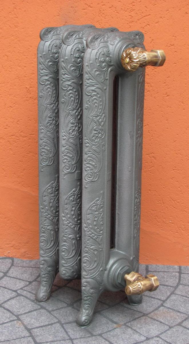 Termosifoni radiatori ghisa stile liberty decorato 2 for Radiatori in ghisa ferroli