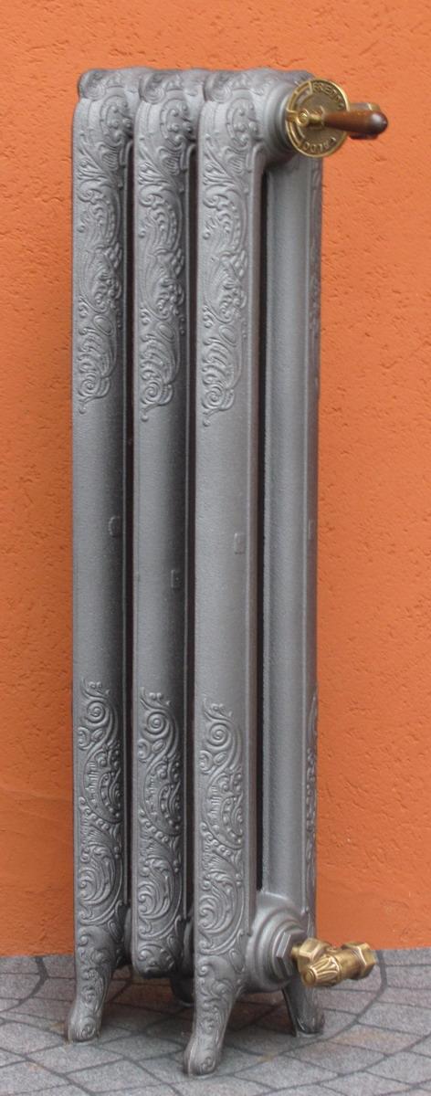 Termosifoni Radiatori Ghisa stile Liberty Decorato 2 Colonne h.75 - Fonderia ...